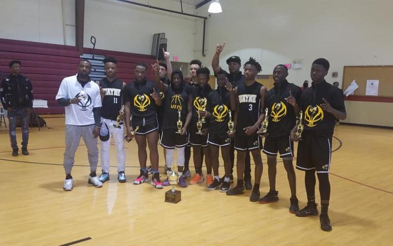 U-17 Boys Basketball GRPA District 2 Champions