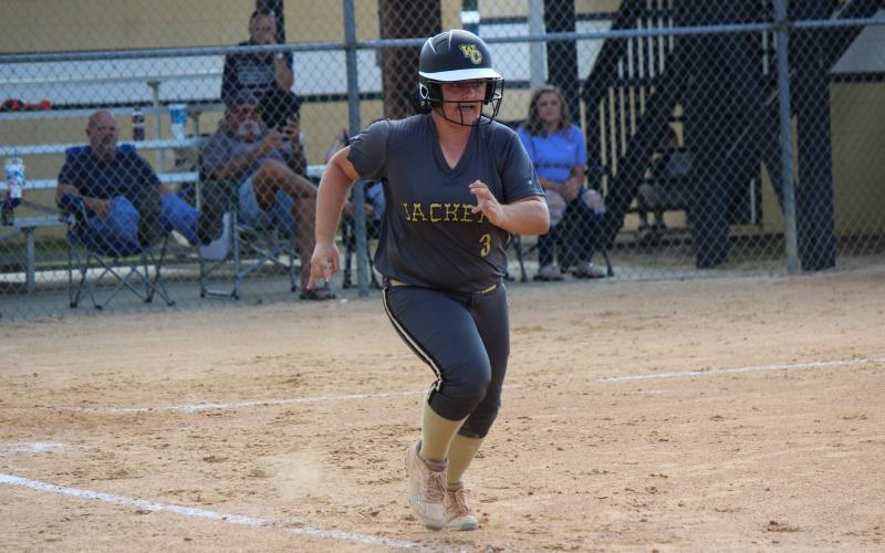 Mackenzie Kagee is one of the big hitters returning to the Lady Jackets' line-up.