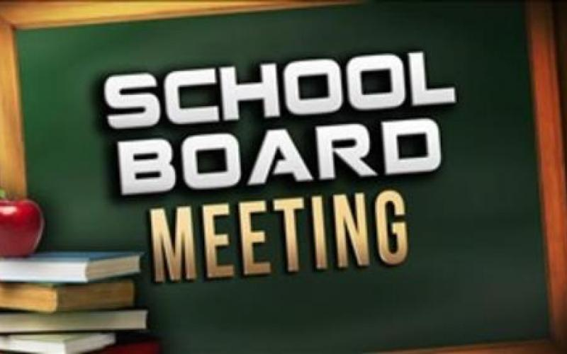Board of Education meeting Tuesday.