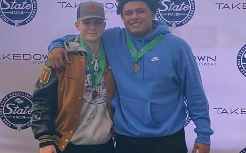 Beasley, Williams bring home state medals